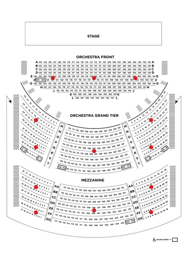 Shakespeare Theatre Company Seating Plans Shakespeare