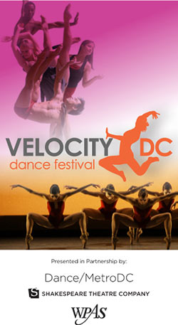 a review of velocity dc dance festival Join nhda for a presentation at the velocity dc dance festival, thursday, october 15, 8:00 pm and friday, october 16, 8:00 pm, the shakespeare theater, 610 f street, nw, washington, dc.