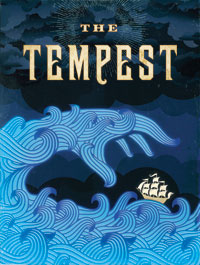 Official poster for STC's The Tempest