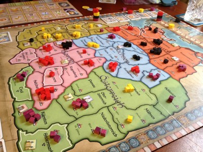 Wallenstein the board game