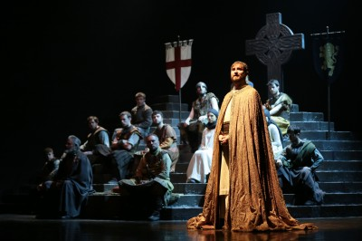 Dunsinane Production Image 11. Ewan Donald. Photo Credit Jason Ma