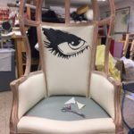 The School for Lies: Eye Chair