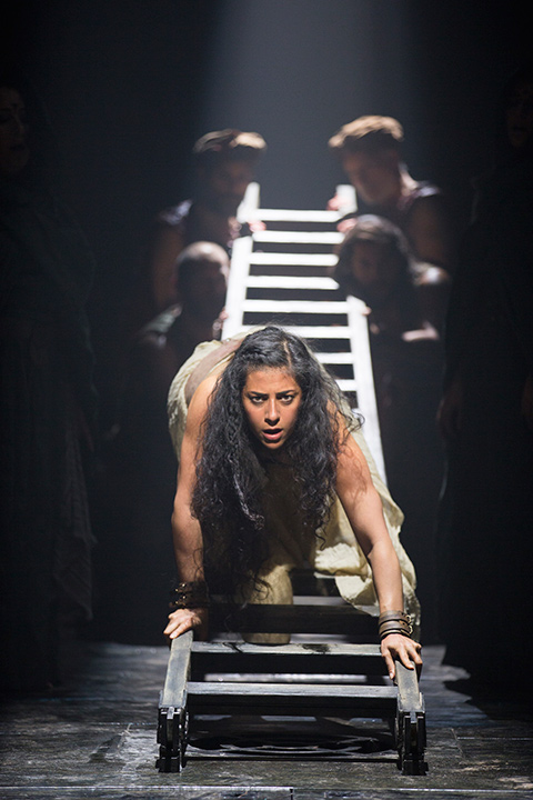 Nadine Malouf as Salomé