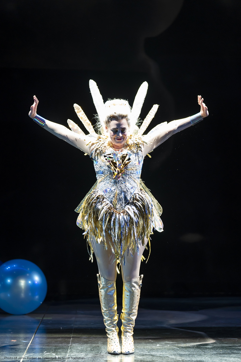 Photo of Jenni Barber as Tinkerbell by Scott Suchman.