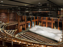 Photo of Sidney Harman Hall by Tom Arban.
