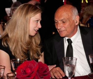 Chelsea Clinton and Michael Kahn