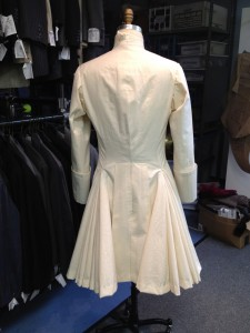 20. mock-up ready for NYC fitting