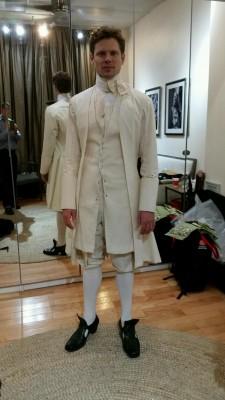 23. Tony Roach , first muslin fitting, NYC