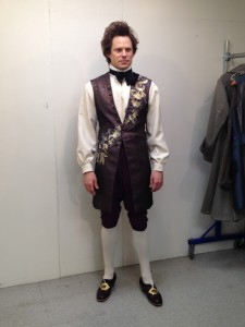 1. final fitting, waistcoat