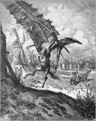 Don_Quixote_6 by Gustave Dore 1863
