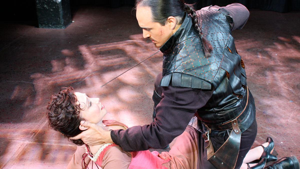 Kelly Lynn Hogan and Rafael Untalan