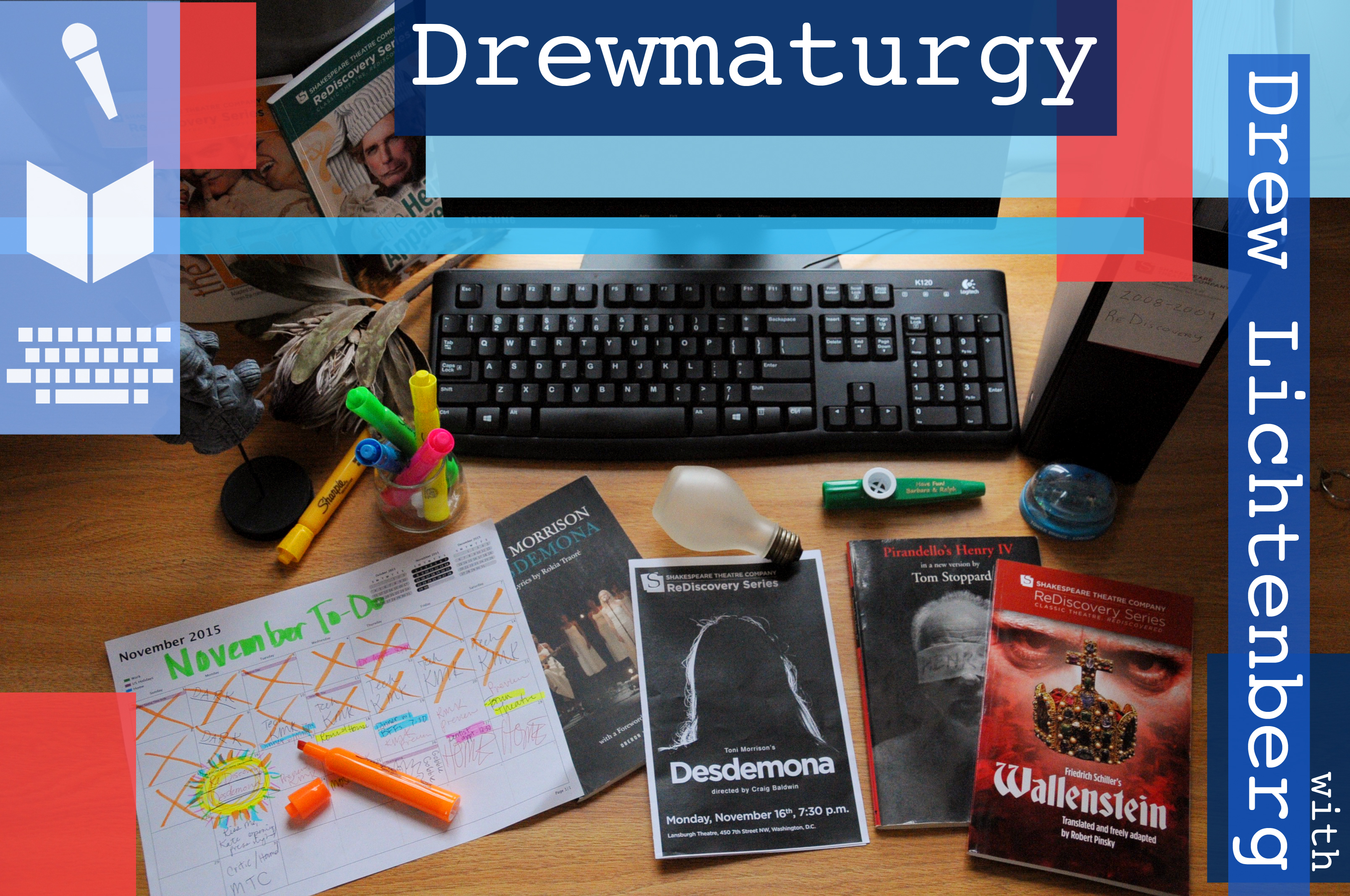 Drewmaturgy. Written by Drew Lichtenberg.