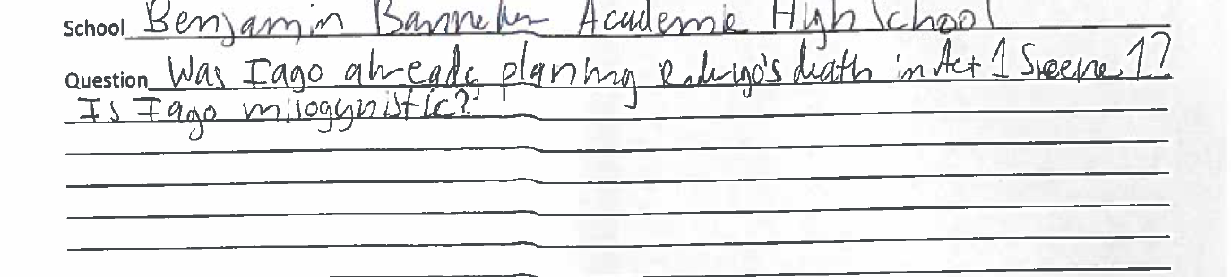 Iago_Roderigo_Student Responses