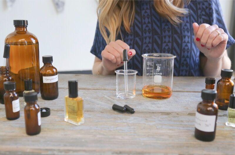 Blending custom perfumes