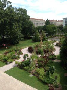 The Smithsonian Gardens Victory Garden.
