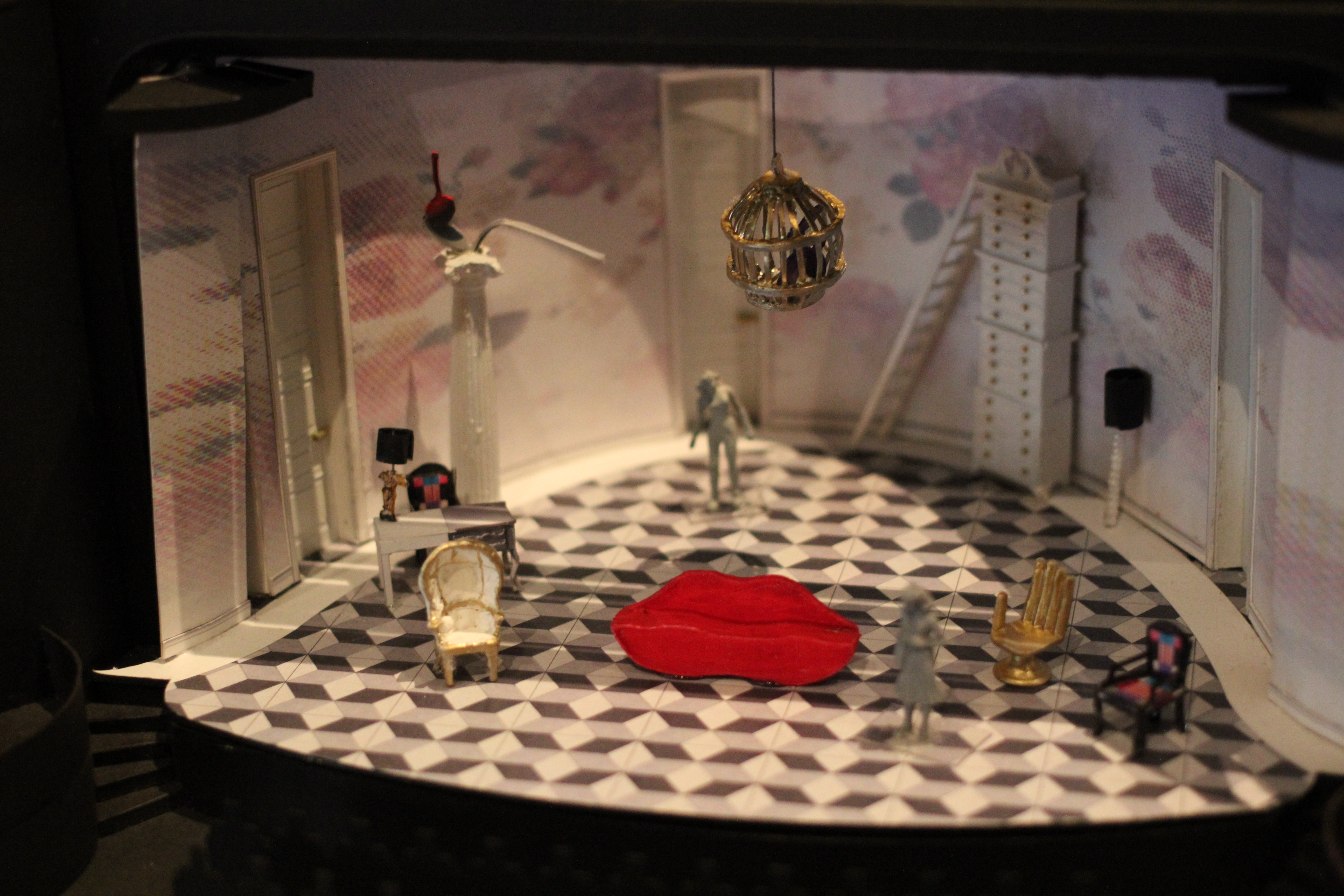 Set model courtesy of Alexander Dodge.