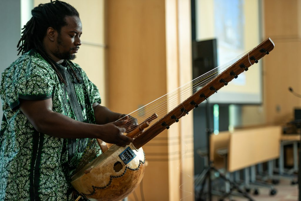 """Juneteenth - """"Let's Talk"""": International Day of Drumming and Healing in Howard County, held at HCLS Miller Branch."""