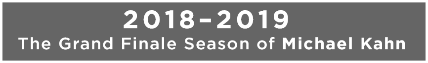 2018-2019 Season Announcement Title