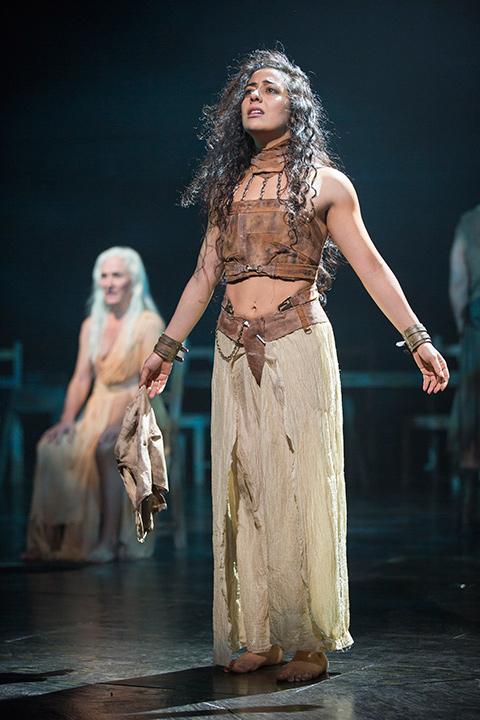 Nadine Malouf as Salomé,