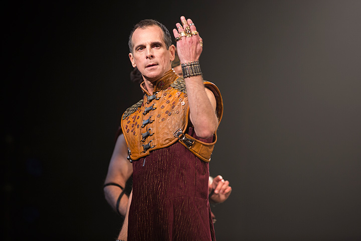 T. Ryder Smith as Pontius Pilate in Yaël Farber's Salomé.