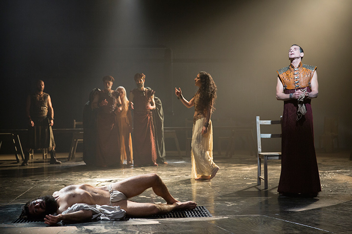 The Company of Yaël Farber's Salomé.