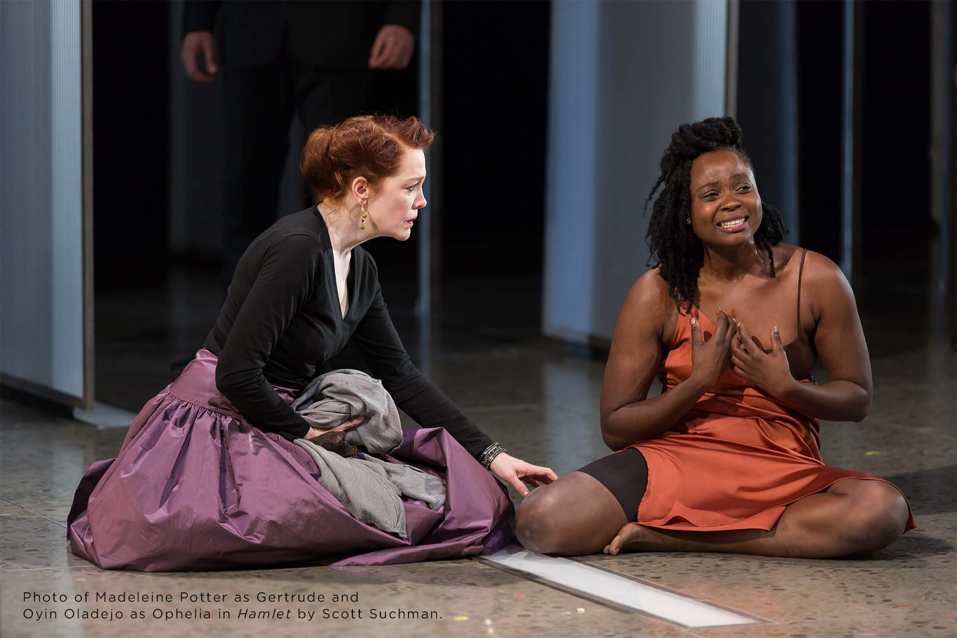 Photo of Madeleine Potter and Oyin Oladejo by Scott Suchman.