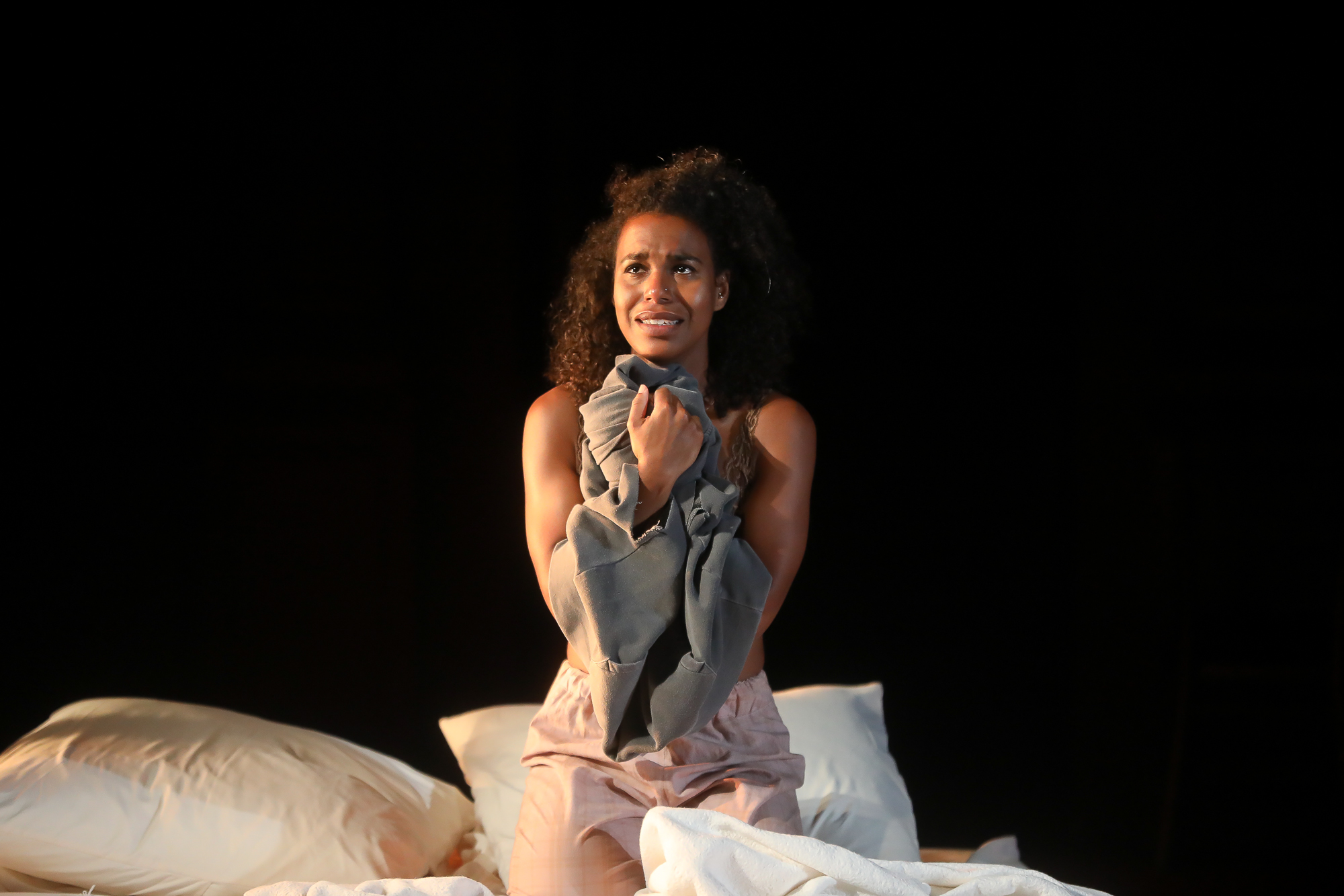 Photo of Danaya Esperanza as Juliet in Romeo & Juliet by Tony Powell.